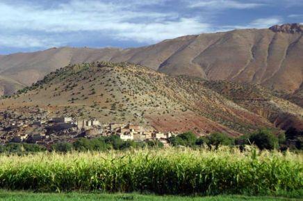 Vue dans la vallée
